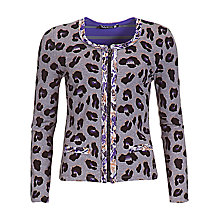 Buy Betty Barclay Paw Print Zip Cardigan Online at johnlewis.com