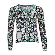 Buy Betty Barclay Star Cardigan, Silver/Blue Online at johnlewis.com