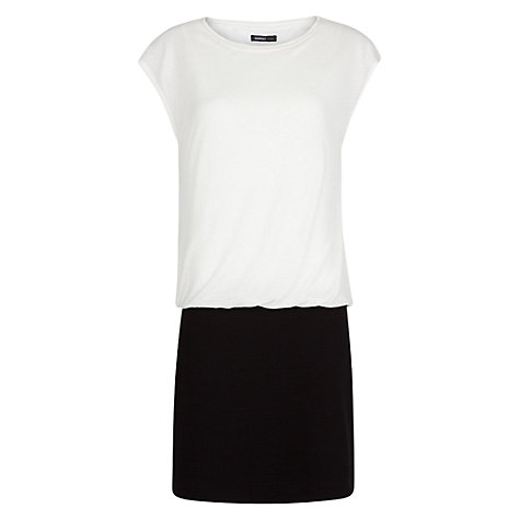 Buy Mango Combi Colour Blocking Dress Online at johnlewis.com