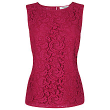 Buy L.K. Bennett Leila Lace Top Online at johnlewis.com
