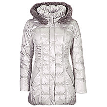 Buy Betty Barclay Quilted Jacket, Mineral Grey Online at johnlewis.com