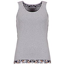 Buy Betty Barclay Print Trim Vest Online at johnlewis.com