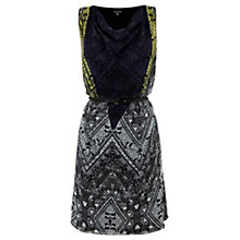 Buy Warehouse Tattoo Print Dress, Multi Online at johnlewis.com