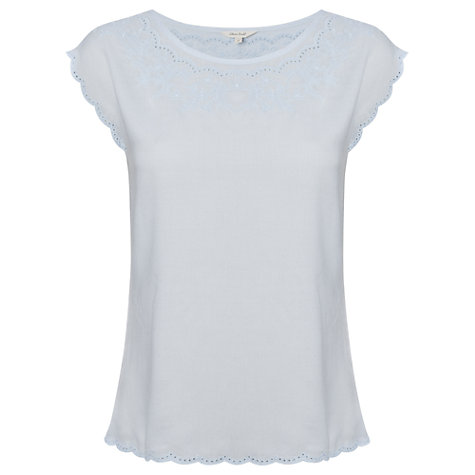 Buy White Stuff Coupling Top, Dream Blue Online at johnlewis.com