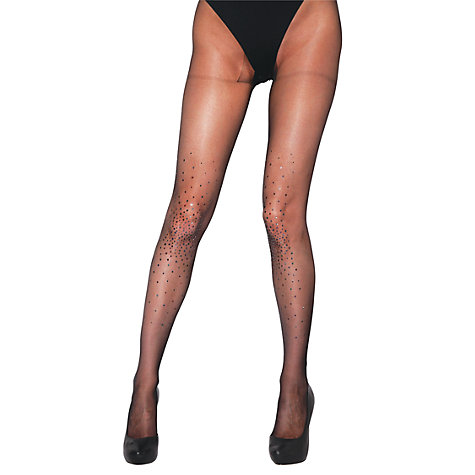 Buy Jonathan Aston Starburst Tights, Black Online at johnlewis.com