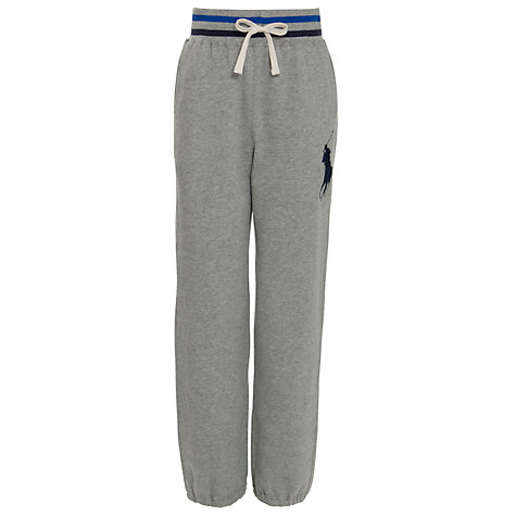 Buy Polo Ralph Lauren Boys' Joggers, Grey Online at johnlewis.com