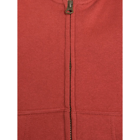 Buy Polo Ralph Lauren Boys' Zip Through Flag Motif Hoodie, Red Online at johnlewis.com