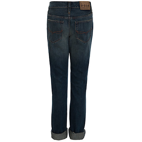 Buy Polo Ralph Lauren Skinny Fit Denim Jeans, Blue Online at johnlewis.com
