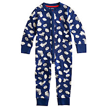 Buy Little Joule Robshaw Onesie, Navy/White Online at johnlewis.com