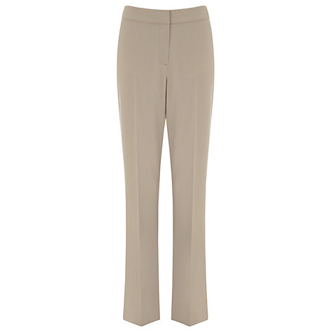 Buy Planet Straight Leg Trousers, Standstone Online at johnlewis.com