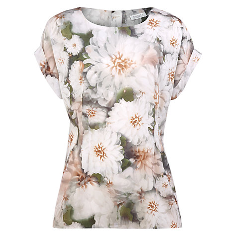 Buy Kaliko Grace Print Blouse, Orange Online at johnlewis.com