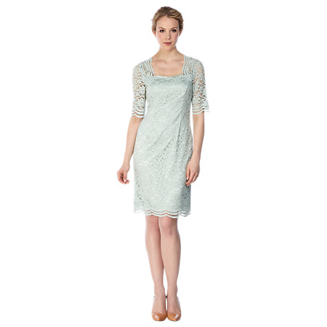Buy Kaliko Lace Dress, Light Green Online at johnlewis.com