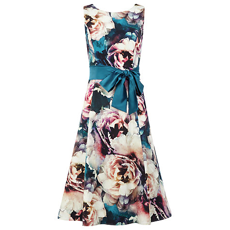 Buy Kaliko Odette Floral Print Dress, Multi Online at johnlewis.com