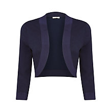 Buy Planet Matt and Shine Knitted Shrug, Navy Online at johnlewis.com