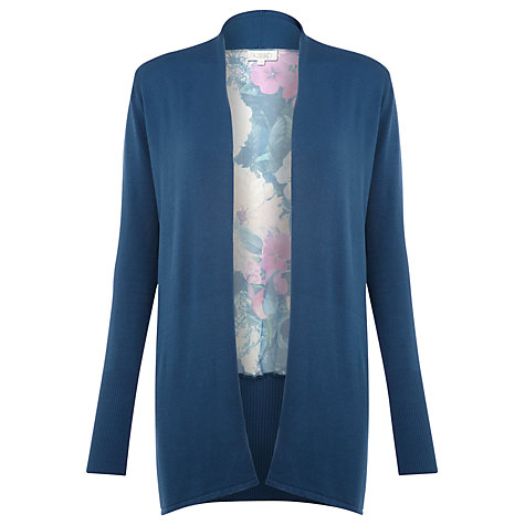 Buy Kaliko Print Chiffon Back Cardigan, Multi Online at johnlewis.com