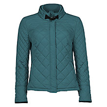 Buy Betty Barclay Quilted Jacket, Green Forest Online at johnlewis.com