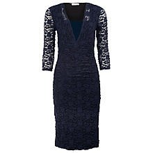 Buy Kaliko Lace Dress, Navy Online at johnlewis.com