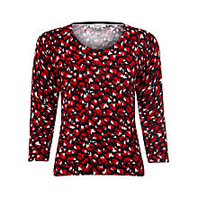 Buy Precis Petite Ikat Animal Print Jumper, Multi Online at johnlewis.com