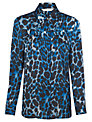 Planet Animal Print Blouse, Multi