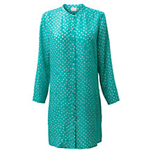 Buy East Bandhini Print Shirt Tunic Dress, Sardinia Online at johnlewis.com