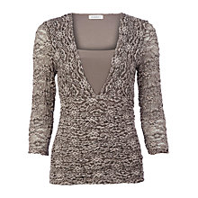 Buy Kaliko Lace Top, Stone Online at johnlewis.com