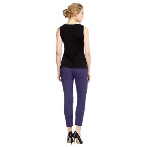 Buy Kaliko Tailored Slim Leg Trousers, Blueberry Online at johnlewis.com