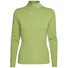 Buy Betty Barclay Knit Turtle Neck Jumper, Lime Online at johnlewis.com