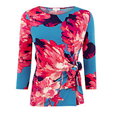 Buy Kaliko Georga Print Wrap Top, Multi Online at johnlewis.com