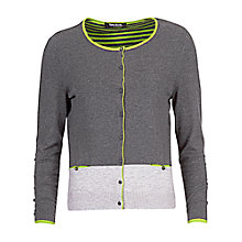 Buy Betty Barclay Two Tone Cardigan, Grey Online at johnlewis.com