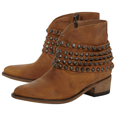Buy Steve Madden Jaane SM Studded Ankle Boots Online at johnlewis.com