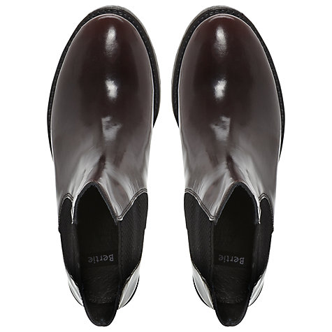 Buy Bertie Pallas Ankle Boots, Burgandy Online at johnlewis.com