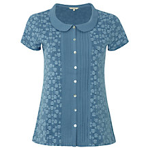 Buy White Stuff Rola Shirt, Moonstone Blue Online at johnlewis.com