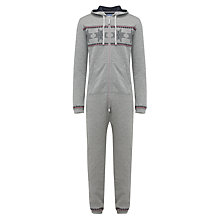Buy John Lewis Fair Isle Print Onesie Online at johnlewis.com