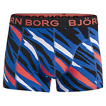 Buy Bjorn Borg Wild Thing Trunks, Classic Blue Online at johnlewis.com