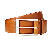 Buy Hugo Boss Eberio Belt, Tan Online at johnlewis.com