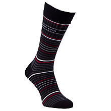 Buy BOSS Socks and Trunks Gift Set, Black/Red/Charcoal Online at johnlewis.com