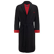 Buy Hugo Boss Shawl Collar Robe, Black Online at johnlewis.com