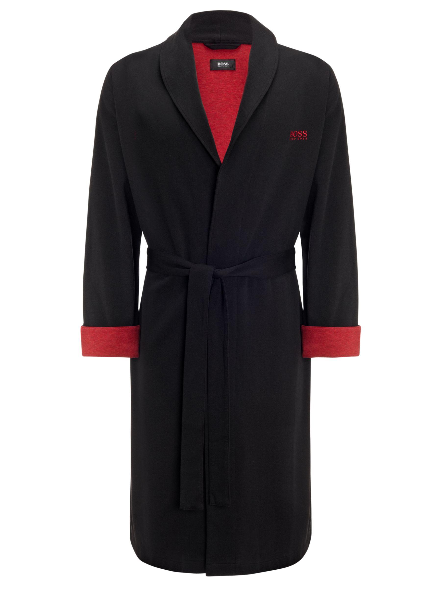 Hugo Boss Shawl Collar Robe, Black