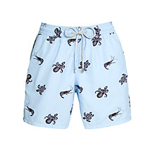Buy Vilebrequin Moorea Turtle Octopus Shrimp Print Swim Shorts, Blue Online at johnlewis.com
