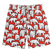 Buy Vilebrequin Polar Bear Print Swim Shorts Online at johnlewis.com
