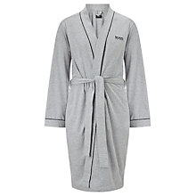 Buy BOSS Jersey Kimono, Grey Online at johnlewis.com