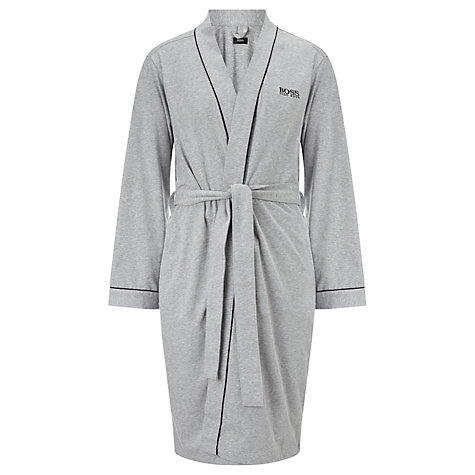 Buy Hugo Boss Jersey Kimono, Grey Online at johnlewis.com