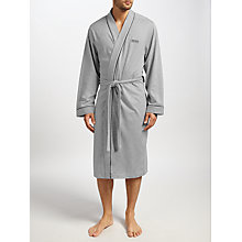 Buy BOSS Cotton Jersey Kimono Robe Online at johnlewis.com