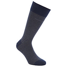 Buy BOSS Marc Stripe Cotton Rich Socks Online at johnlewis.com