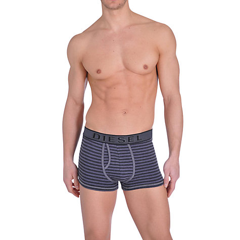 Buy Diesel Divine Denim Trim Trunks, Blue Online at johnlewis.com