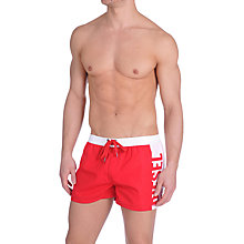 Buy Diesel Colarif Swim Shorts, Red Online at johnlewis.com