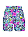 Vilebrequin Floral Print Swim Shorts, Blue/Pink/Yellow