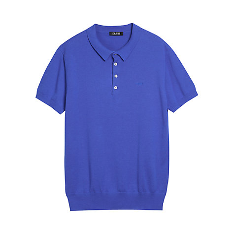 Buy Farhi by Nicole Farhi Cotton Polo Shirt Online at johnlewis.com