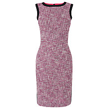 Buy L.K. Bennett Julie Tweed Dress, Red Online at johnlewis.com