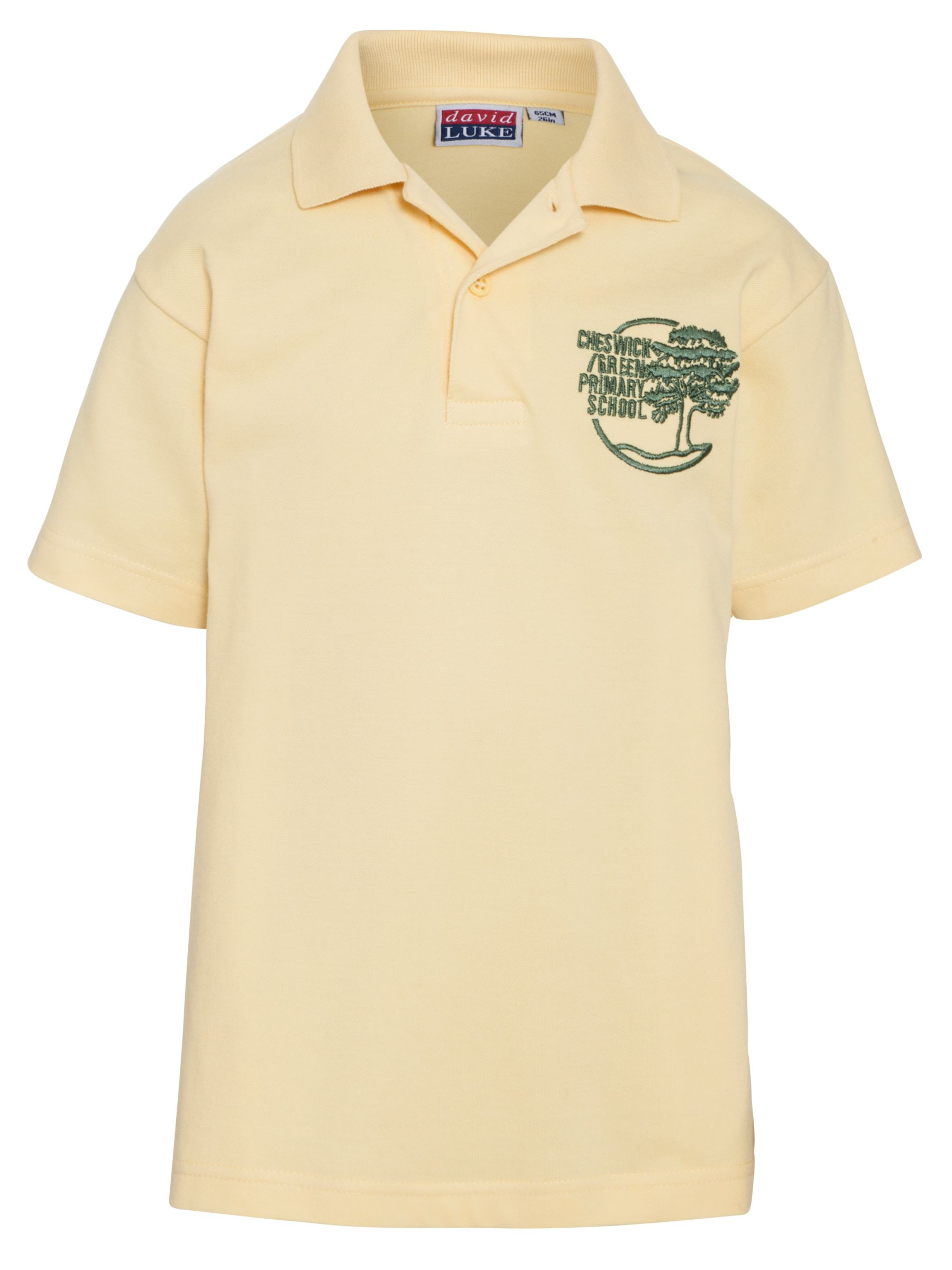 Cheswick Green Primary School Foundation Stage Unisex Polo Shirt Gold